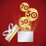 Shopping digital design. Royalty Free Stock Image