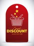 Shopping digital design. Royalty Free Stock Photos