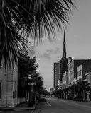 Shopping and dining on King Street, Charleston, SC Stock Images