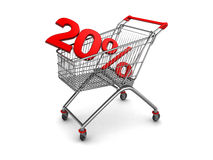 Shopping discount Stock Photography