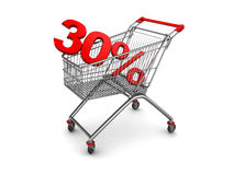 Shopping discount Stock Image