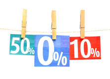 Shopping discount Royalty Free Stock Photography
