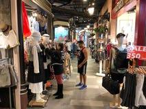 Shopping do terminal 21 em Banguecoque imagens de stock