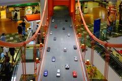 Shopping do terminal 21 em Banguecoque, Tailândia Terminal 21 miliampères Imagens de Stock