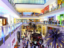 Shopping at Dubai Mall Stock Images