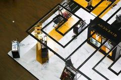 Shopping at Dubai Mall royalty free stock image