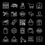 shopping, E-commerce vector icon vector illustration