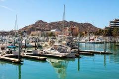 Shopping e porto de Puerto Paraiso Imagens de Stock Royalty Free
