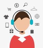 201Shopping and ecommerce. Shopping and ecommerce graphic design, vector illustration Stock Photography