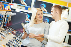 Shopping electronics tablet computer Royalty Free Stock Images