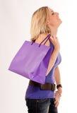Shopping emotion Royalty Free Stock Photography