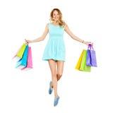 Shopping enjoy Royalty Free Stock Photo