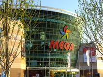 Shopping and entertainment center MEGA in Astana / Kazakhstan Stock Images