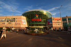 Shopping and entertainment center MEGA in Astana / Stock Photo