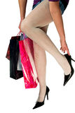 Shopping euphoria Stock Photos