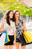 Shopping exciting Royalty Free Stock Photo