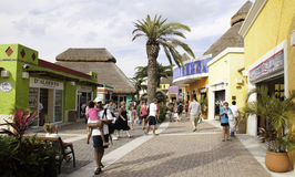 shopping för cozumelmexico port Royaltyfria Foton