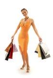 shopping för eufori 2 arkivbilder