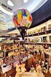 shopping för julgarneringgalleria Royaltyfria Bilder