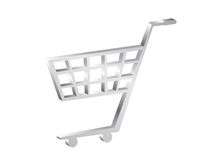 shopping för vagn 3d Royaltyfri Fotografi