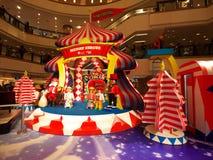 shopping för stadshamnHong Kong galleria Fotografering för Bildbyråer