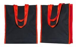 Shopping fabric bag isolated on white Royalty Free Stock Photo