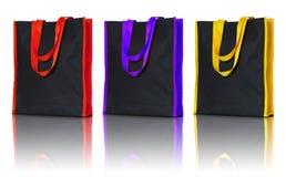 Shopping fabric bag Stock Image