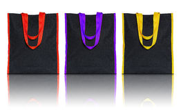 Shopping fabric bag Royalty Free Stock Photography