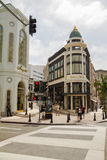 Shopping at famous Rodeo Drive, Beverly Hills Stock Image