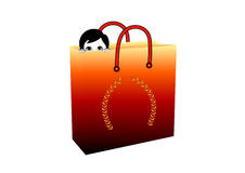 Shopping Fantasy Royalty Free Stock Photography