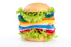 Shopping fast food Royalty Free Stock Image