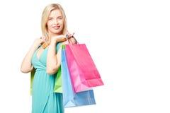 Shopping fever Royalty Free Stock Photo