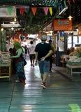 Shopping. Floating market thailand, shopping for something unknown Stock Image