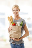 Shopping food Stock Photo