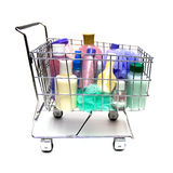 Shopping For Beauty Products Royalty Free Stock Photo