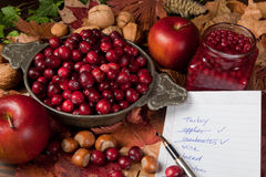 Free Shopping For Thanksgiving Stock Photography - 21594032
