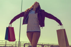 Shopping freedom Stock Images