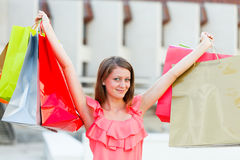 Shopping is Freedom Royalty Free Stock Photos