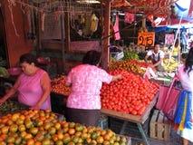 Shopping for Fresh Produce Royalty Free Stock Photos