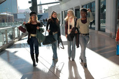 Shopping Friends royalty free stock photography