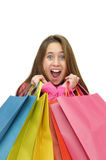 Shopping fun Stock Photo