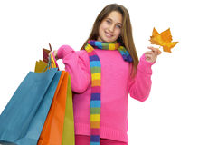 Shopping fun Stock Images