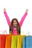 Shopping fun Royalty Free Stock Image