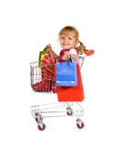 Shopping is fun Royalty Free Stock Photos