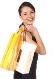 Shopping is fun Stock Image