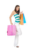 Shopping fun Royalty Free Stock Photos
