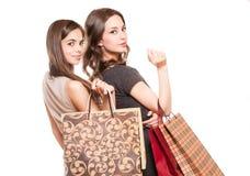 Shopping fun. Royalty Free Stock Photos