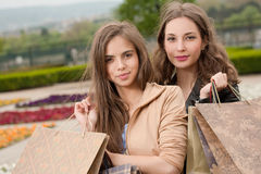 Shopping fun. Royalty Free Stock Photos