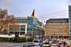 Free Shopping Galleries Neumarkt In Der Oberpfalz In Cologne Royalty Free Stock Image - 57520546