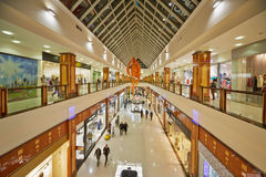 Shopping galleries at shopping and entertainment center RIO Royalty Free Stock Photo
